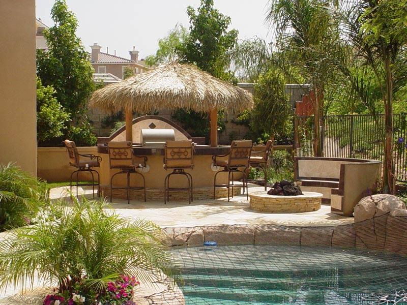 Palapa Cabana Backyard